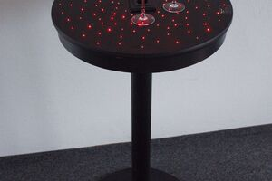 dotspot accent light points in a bar table