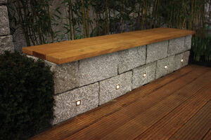dotspot square accent light spots in granite