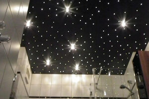 Starry sky accent light spots with Swarowski